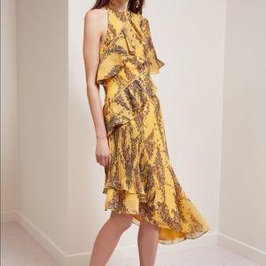 Keepsake Light Up Dress Golden Wildflower Floral